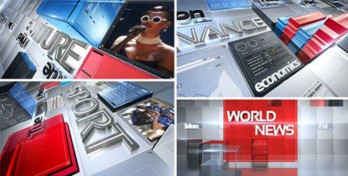 broadcast news pack free after effect template. Black Bedroom Furniture Sets. Home Design Ideas